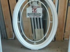 Oval window install matheson