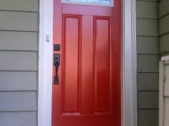 Red front door matheson