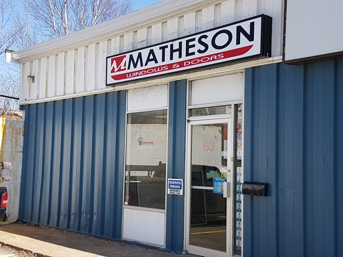 Matheson office pix